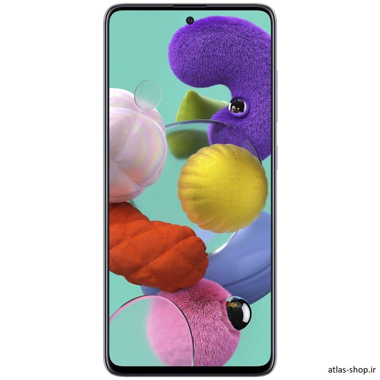 گوشی موبایل سامسونگ Galaxy A51 ظرفیت 128گیگابایت رنگ سفید